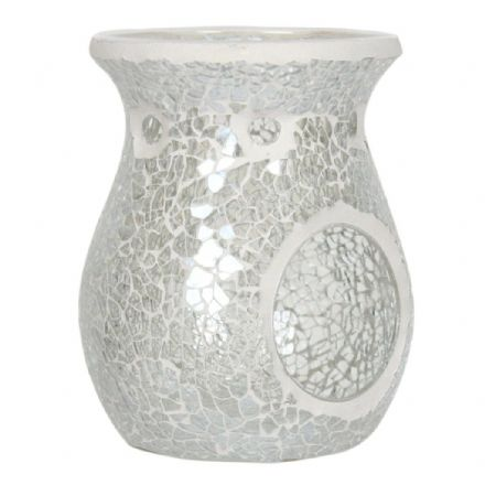 Mosaic Crackle Glass Wax Burner & Melts